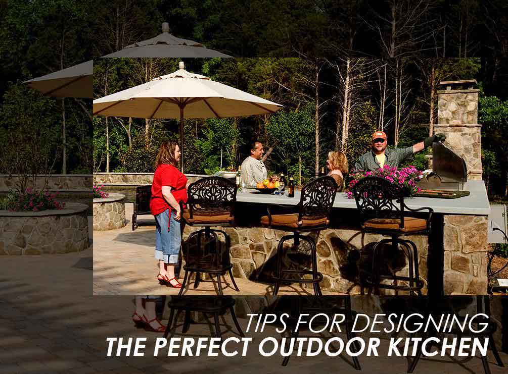 Tips for designing the perfect outdoor kitchen for Perfect outdoor kitchen