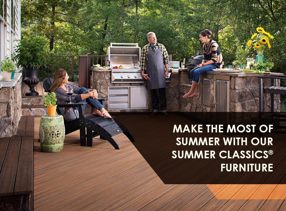 Make the Most of Summer with our Summer Classics® Furniture