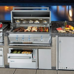 Stylish Outdoor Kitchens Are The Latest Trends In Entertaining. Choosing  The Right Grill And Accessories For Your Perfect Backyard Entertainment  Center Is ...